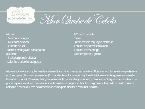 ficha mini quiche cebola